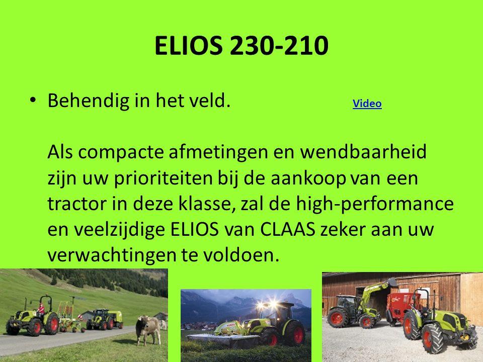 ELIOS 230-210 Behendig in het veld.