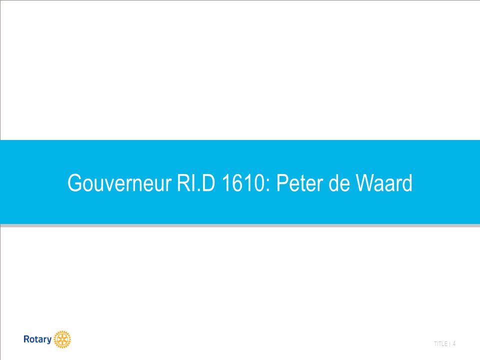 TITLE | 4 Gouverneur RI.D 1610: Peter de Waard