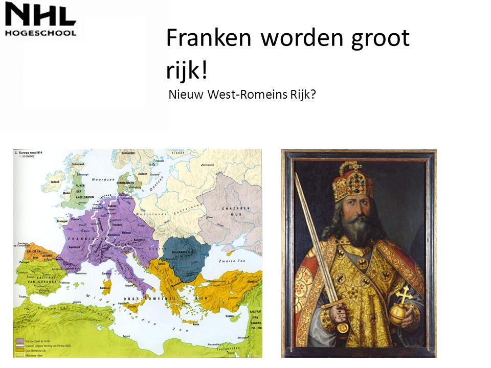 Franken worden groot rijk! Nieuw West-Romeins Rijk?