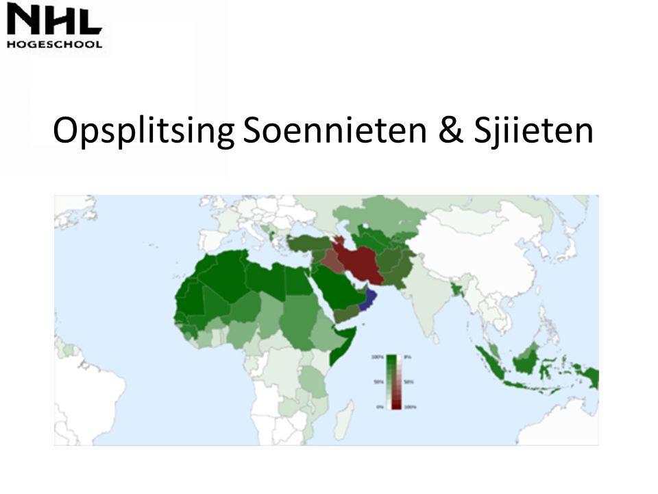 Opsplitsing Soennieten & Sjiieten