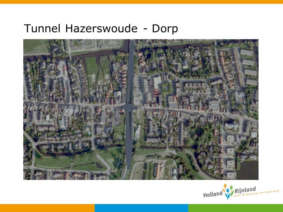 Tunnel Hazerswoude - Dorp