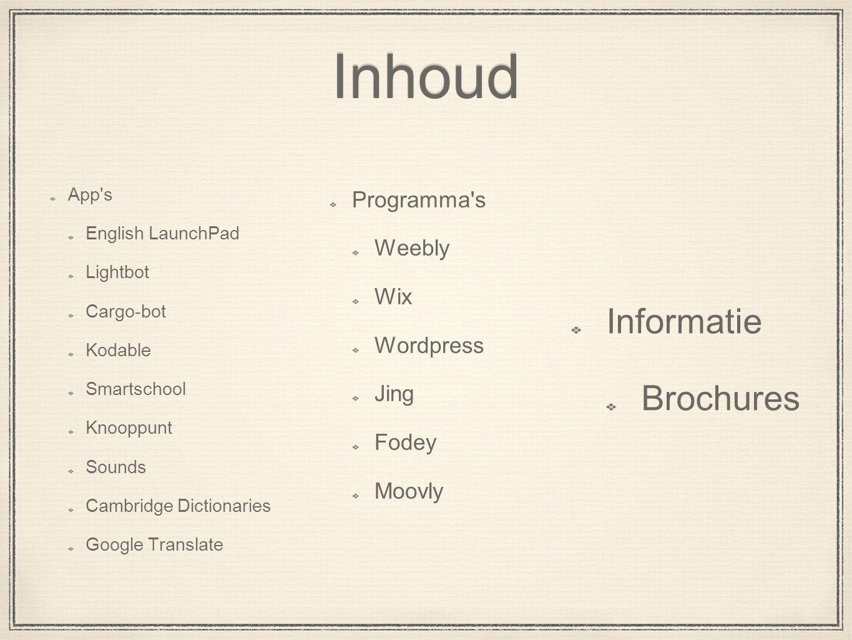 App s English LaunchPad Grammatica Woordenschat Bord Lesvoorbereiding