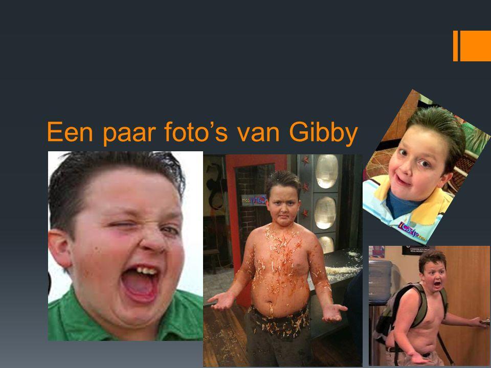 Een paar foto's van Gibby