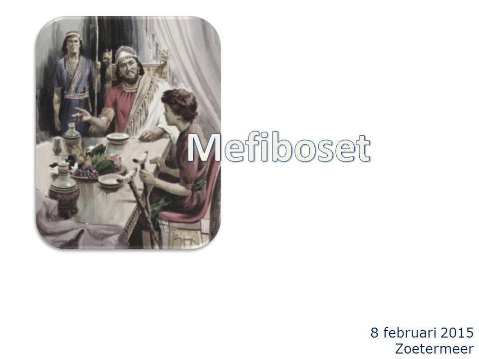 2Samuel 9 1 David zeide: Is er soms nog iemand over van het huis van Saul?...