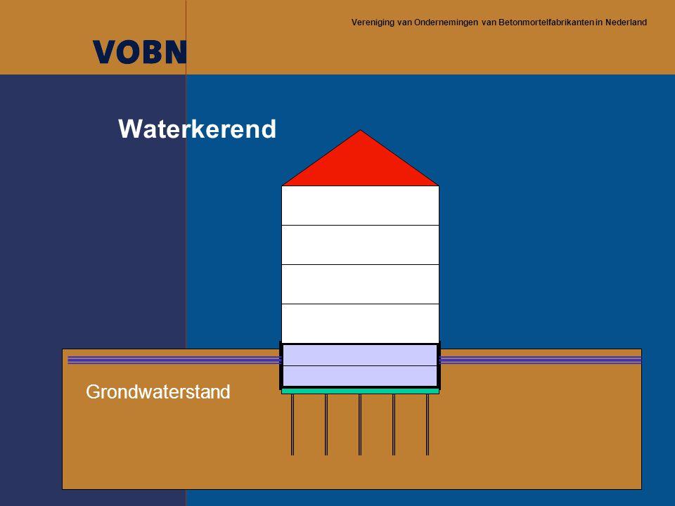 Vereniging van Ondernemingen van Betonmortelfabrikanten in Nederland Waterkerend Grondwaterstand