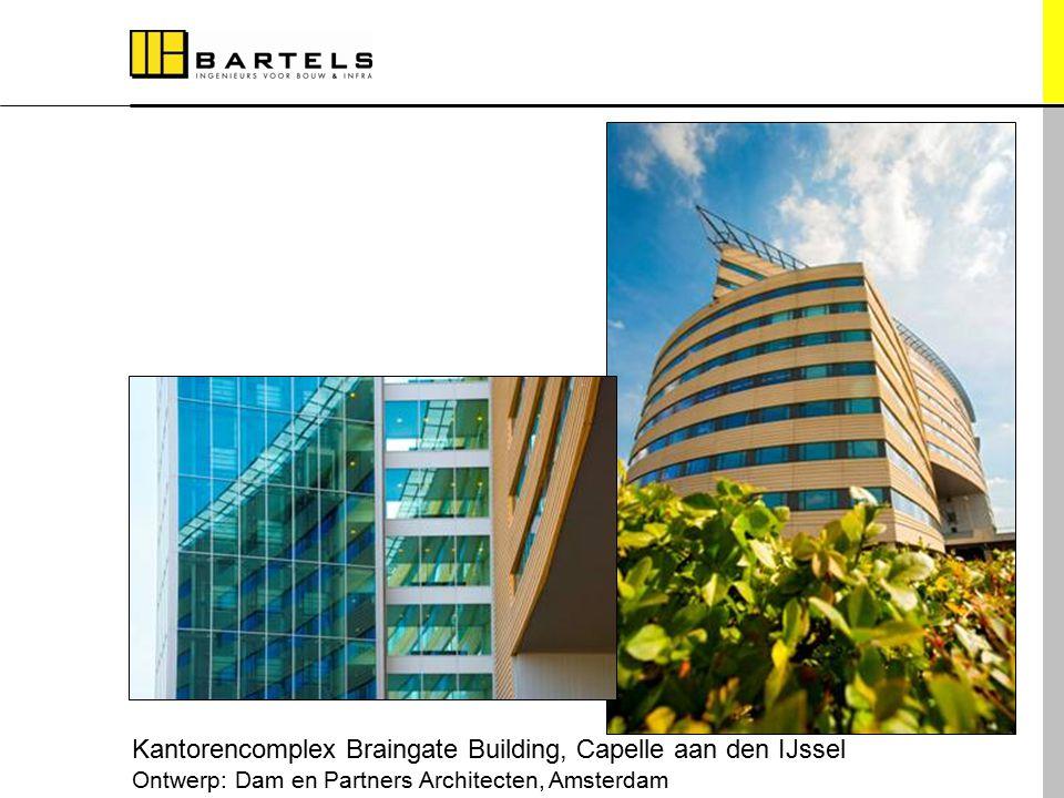 Referentieprojecten Kantorencomplex Braingate Building, Capelle aan den IJssel Ontwerp: Dam en Partners Architecten, Amsterdam
