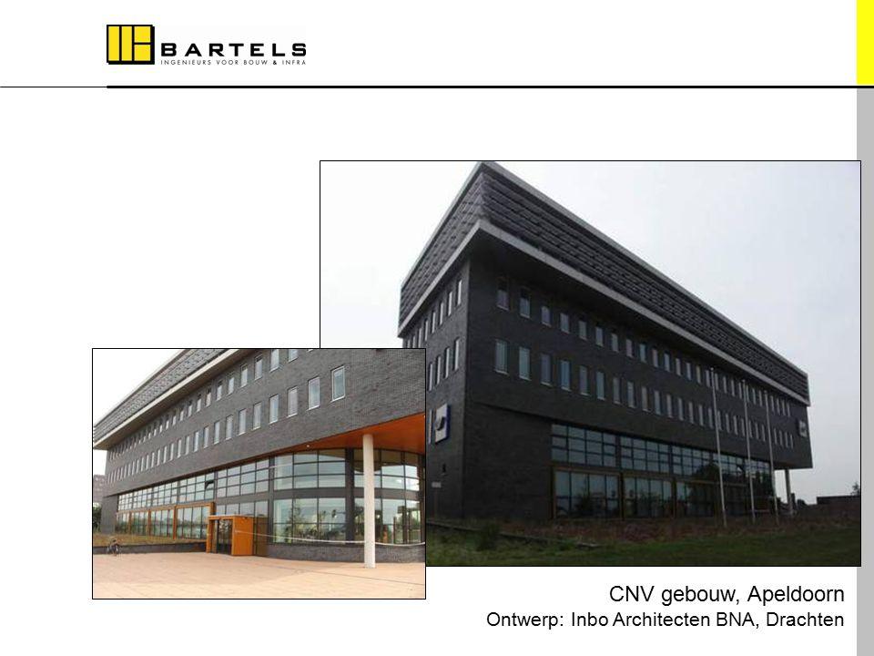 Referentieprojecten CNV gebouw, Apeldoorn Ontwerp: Inbo Architecten BNA, Drachten