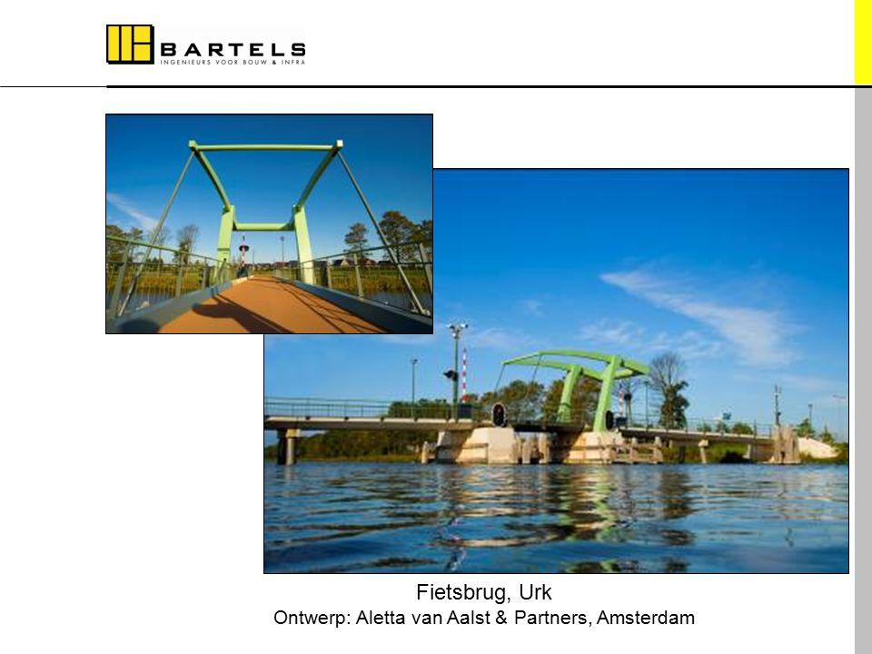 Referentieprojecten Fietsbrug, Urk Ontwerp: Aletta van Aalst & Partners, Amsterdam