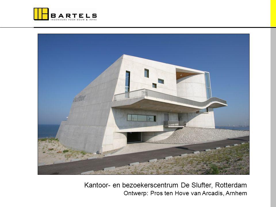 Referentieprojecten Kantoor- en bezoekerscentrum De Slufter, Rotterdam Ontwerp: Pros ten Hove van Arcadis, Arnhem