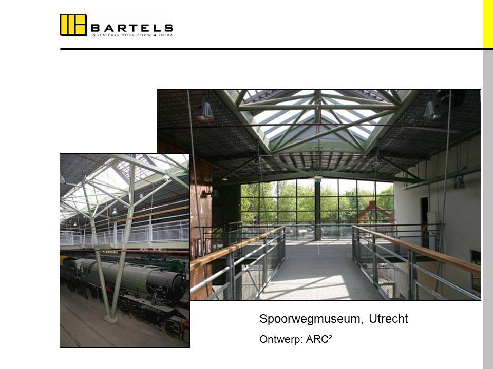 Referentieprojecten Spoorwegmuseum, Utrecht Ontwerp: ARC²