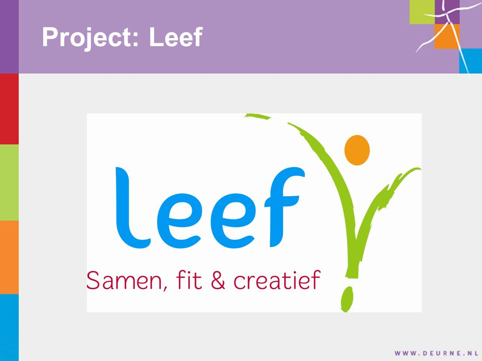Toelichting project