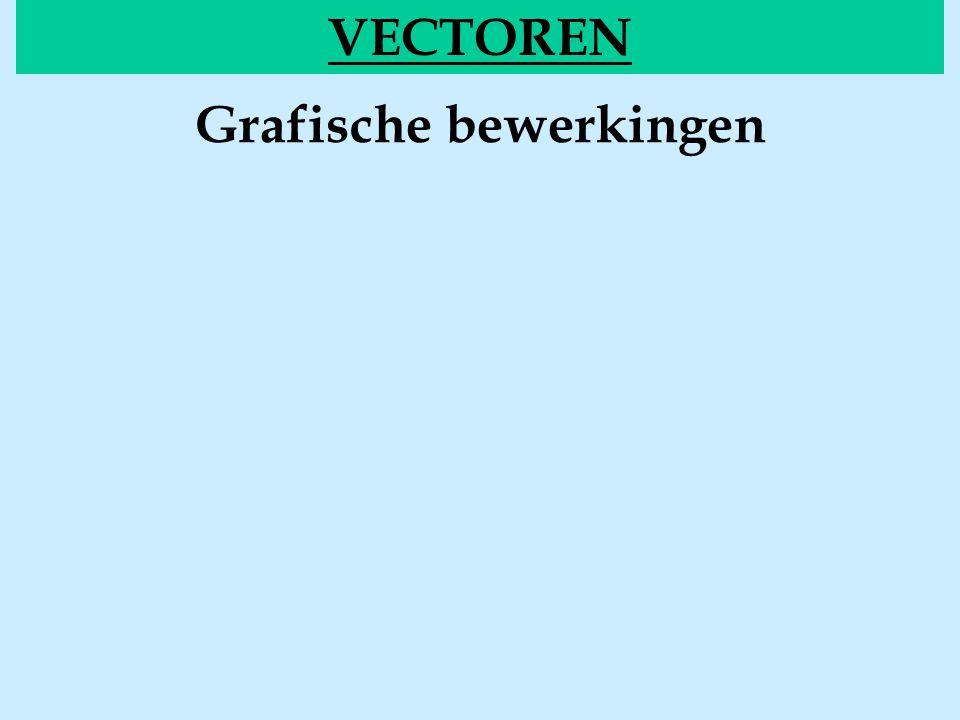 Grafische bewerkingen VECTOREN