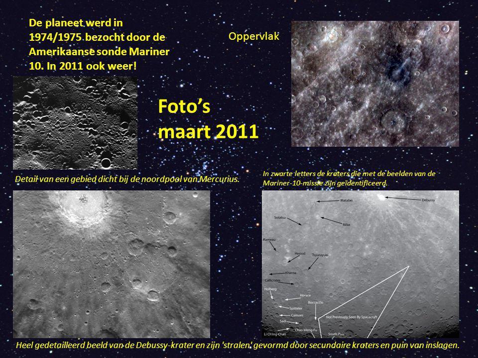 De planeet werd in 1974/1975 bezocht door de Amerikaanse sonde Mariner 10.