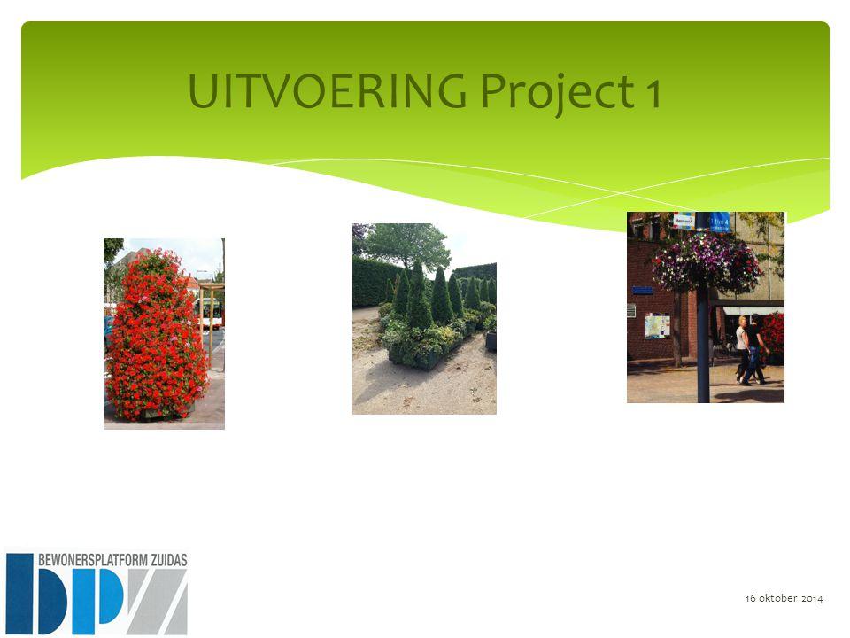 UITVOERING Project 1 16 oktober 2014