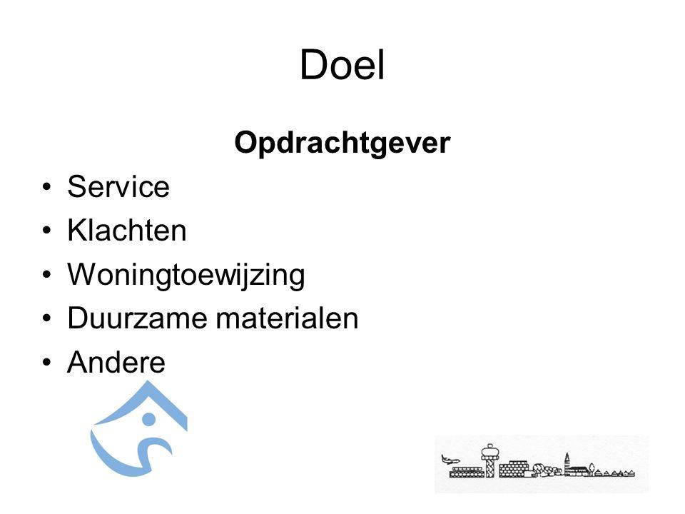 Doel VAC Haarlemmermeer Adviezen toetsen Wijzigingen in indeling na oplevering Installaties Toegankelijkheid Geluidshinder Schoonmaak Onderhoud