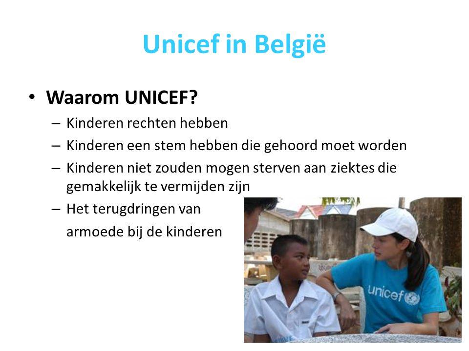 Unicef in België Waarom UNICEF.