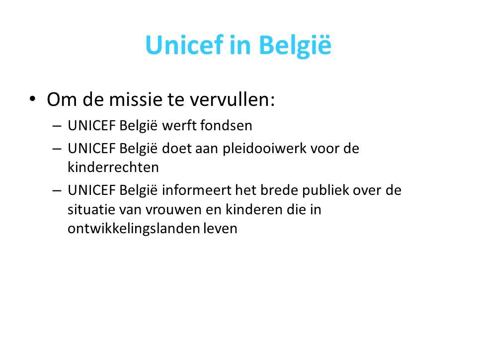 Unicef in België Inkomsten van UNICEF België in 2008: Financiering door de overheden vergeleken met de inkomsten van de particulieren en bedrijven in België