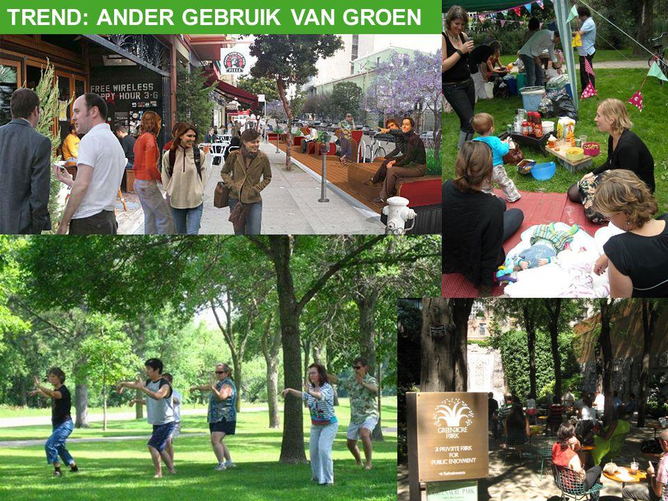 TREND: ANDER GEBRUIK VAN GROEN