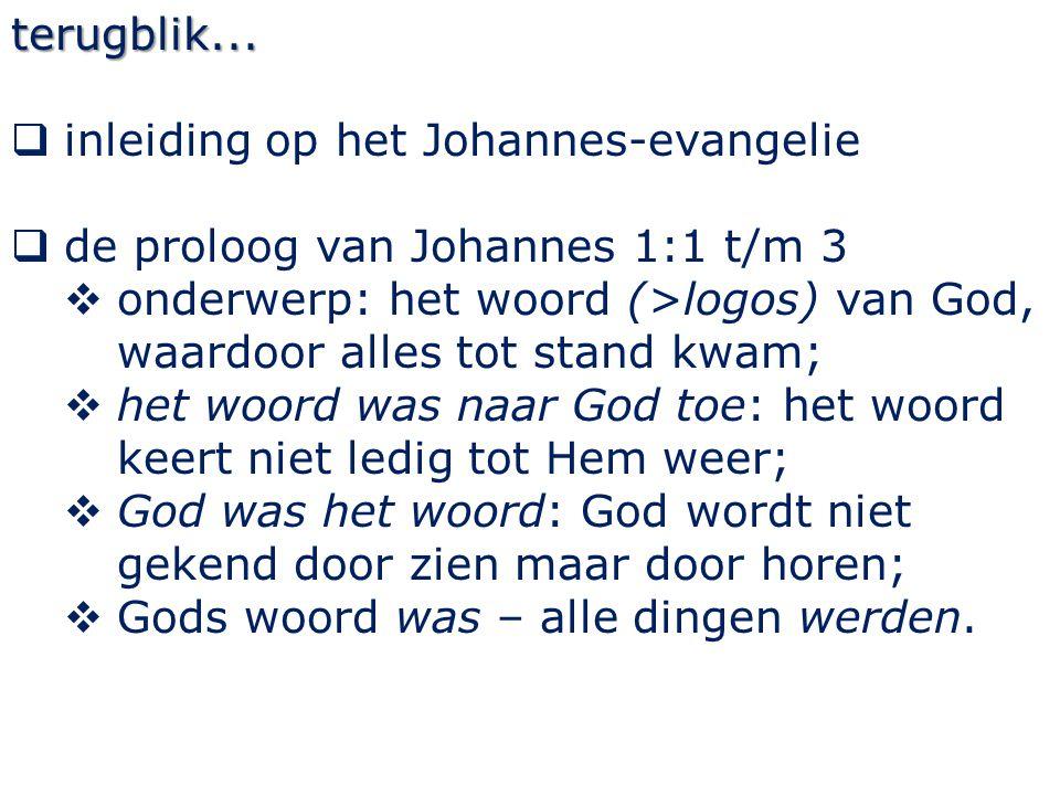 Johannes 1 6 Er trad een mens op, van God gezonden, wiens naam was Johannes; > Hebr.