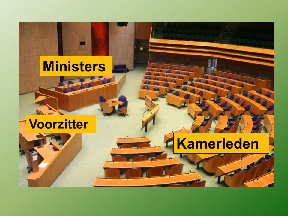 Ministers - Besturen het Land (Uitvoerende macht) - Zijn hoofd van een ministerie.