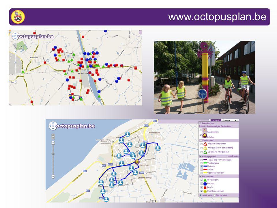www.octopusplan.be: schoolpagina
