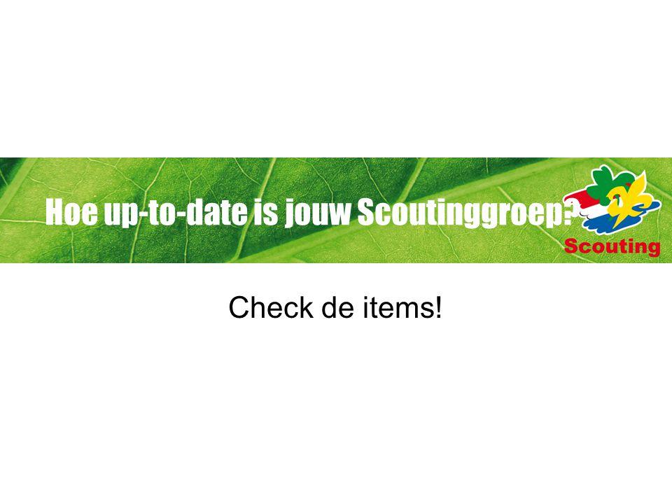 De vernieuwingen Scouting Academy Spel Groepsontwikkeling