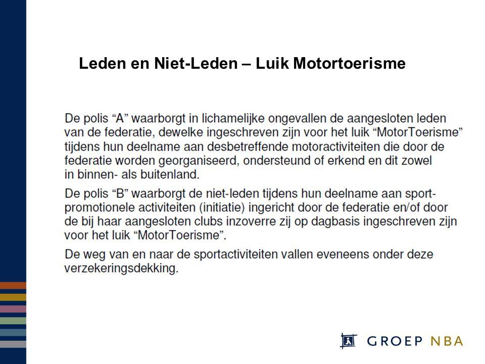 Leden en Niet-Leden – Luik Motortoerisme