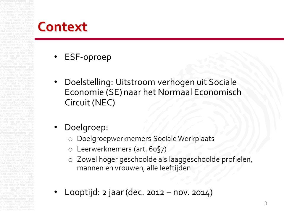 4 Overzicht partnerschap Partners SE Kringloopcentrum Zuid-West- Vlaanderen Constructief Tandem vzw Mentor vzwPartners NEC BarcoIMOGDe mailingman PROMOTOR (Mentor vzw) STRATEGISCHE PARTNERS (OCMW Kortrijk, Kanaal 127, Mobiel)