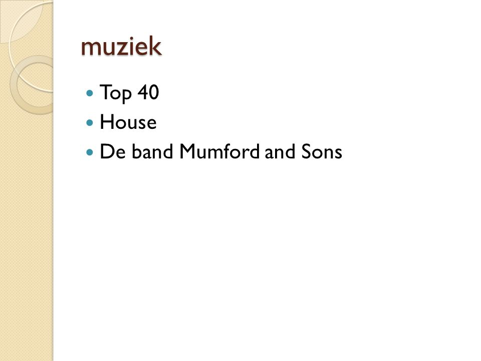 muziek Top 40 House De band Mumford and Sons