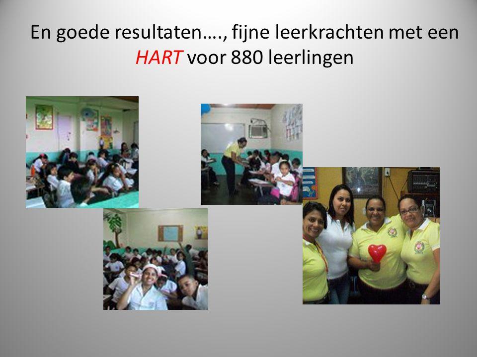 En goede resultaten…., fijne leerkrachten met een HART voor 880 leerlingen 3