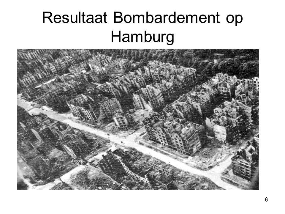 6 Resultaat Bombardement op Hamburg