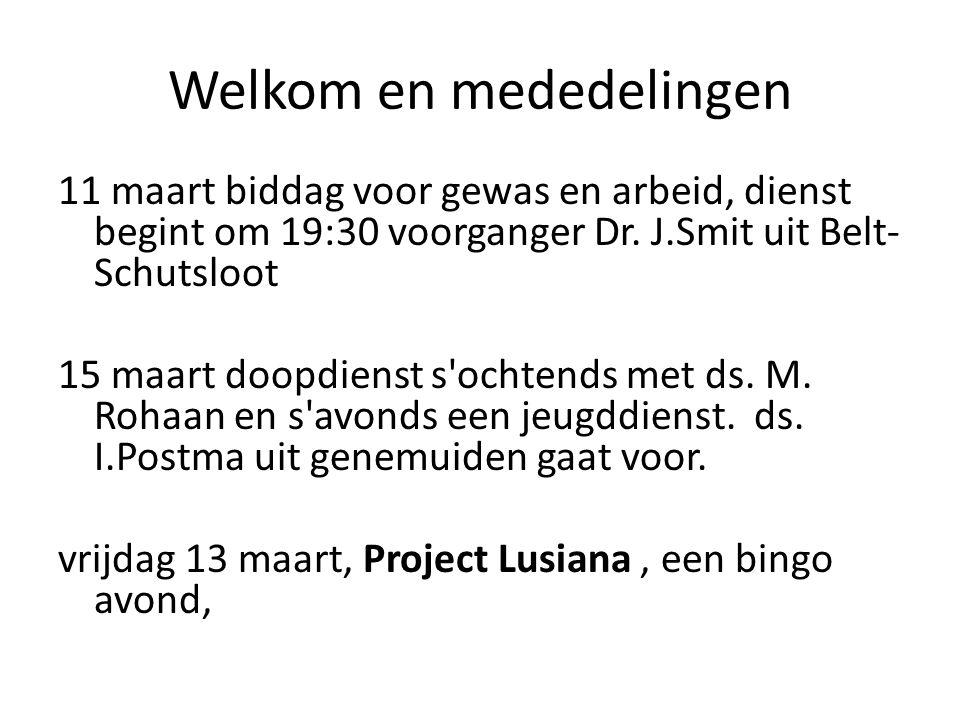 Project Lusiana Gezellige bingoavond voor het hele gezin op vrijdag 13 maart in de Voorhof: inloop vanaf 19.30 uur.