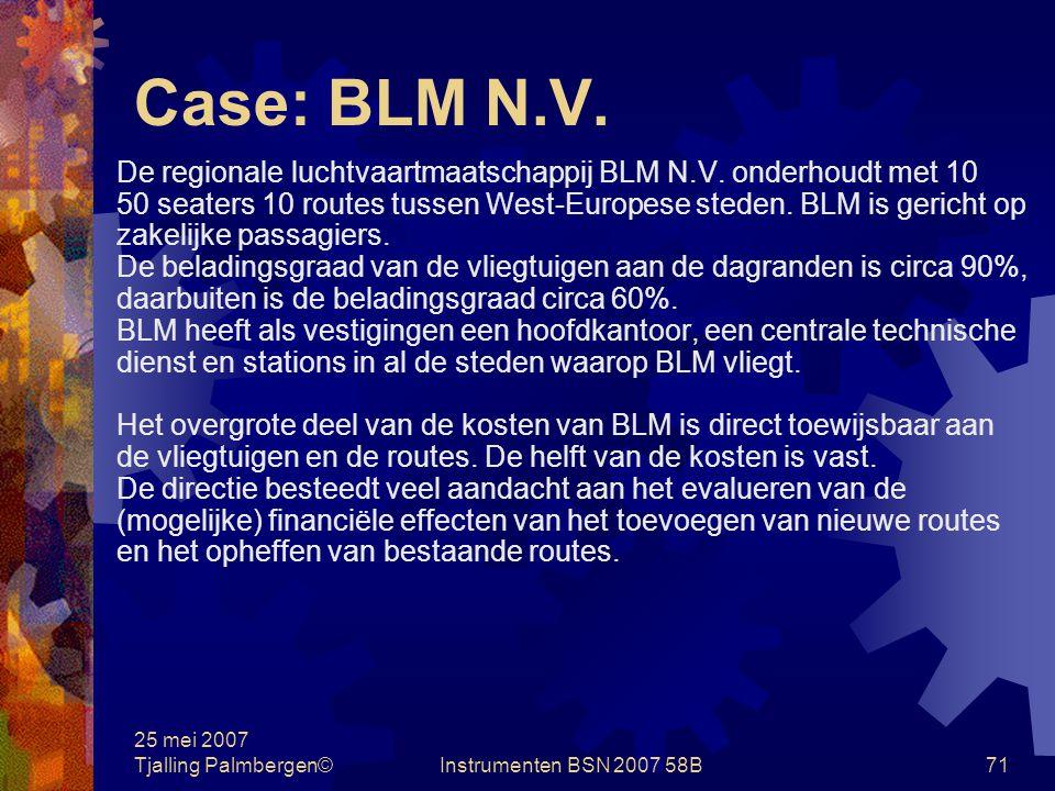 25 mei 2007 Tjalling Palmbergen©Instrumenten BSN 2007 58B70 Cases 1.BLM N.V.