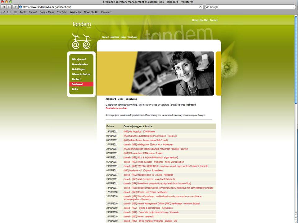 Vives BRUGGE 07 november 2014 p. 12 SWOT – analyse ! +- OT