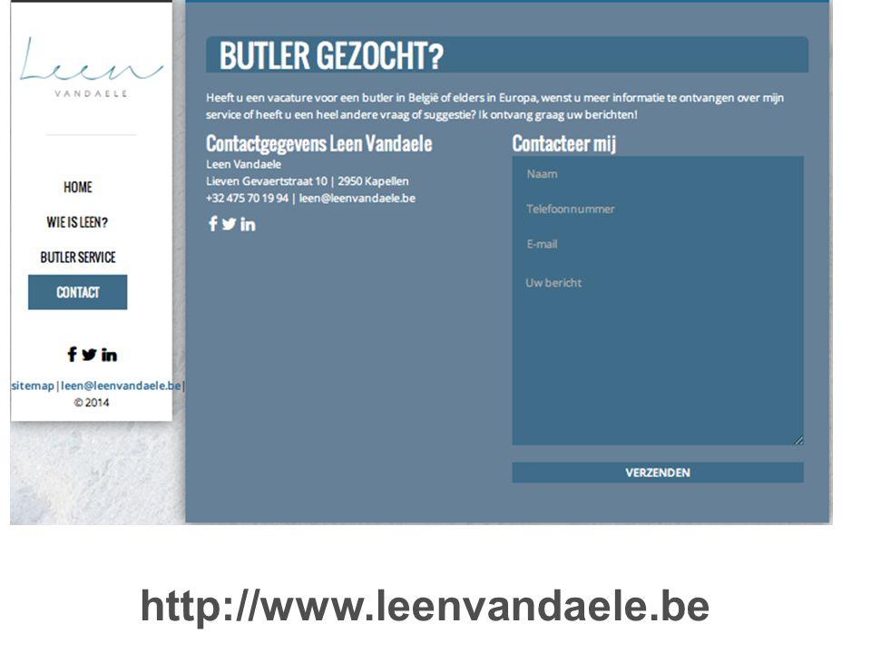 http://www.leenvandaele.be