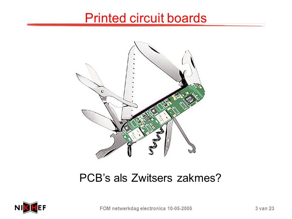 FOM netwerkdag electronica 10-05-200524 van 23 Printed circuit boards