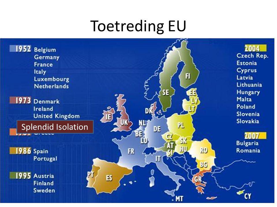 Toetreding EU Splendid Isolation