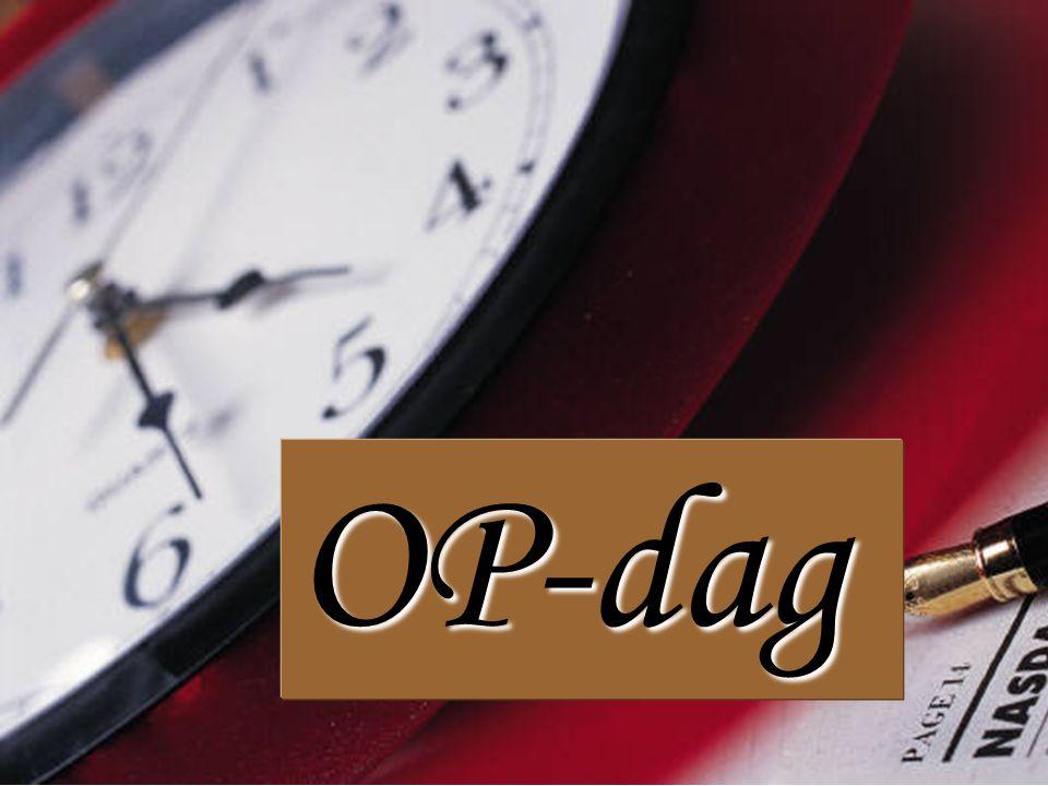 OP-dag - 24:00 uur