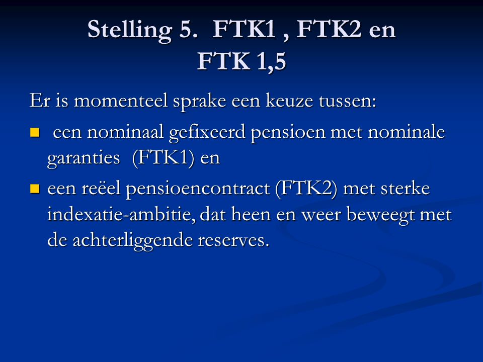 Stelling 5.