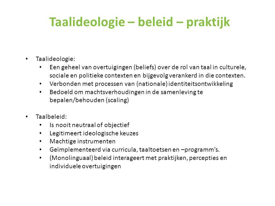 Effect op Nederlandse taalvaardigheid Geen negatieve effecten (bevraging) ik denk dat de kinderen meer betrokken zijn en geïnteresseerd in talen (K3) ze spreken nu in hun eigen taal, maar ze spreken niet minder Nederlands.