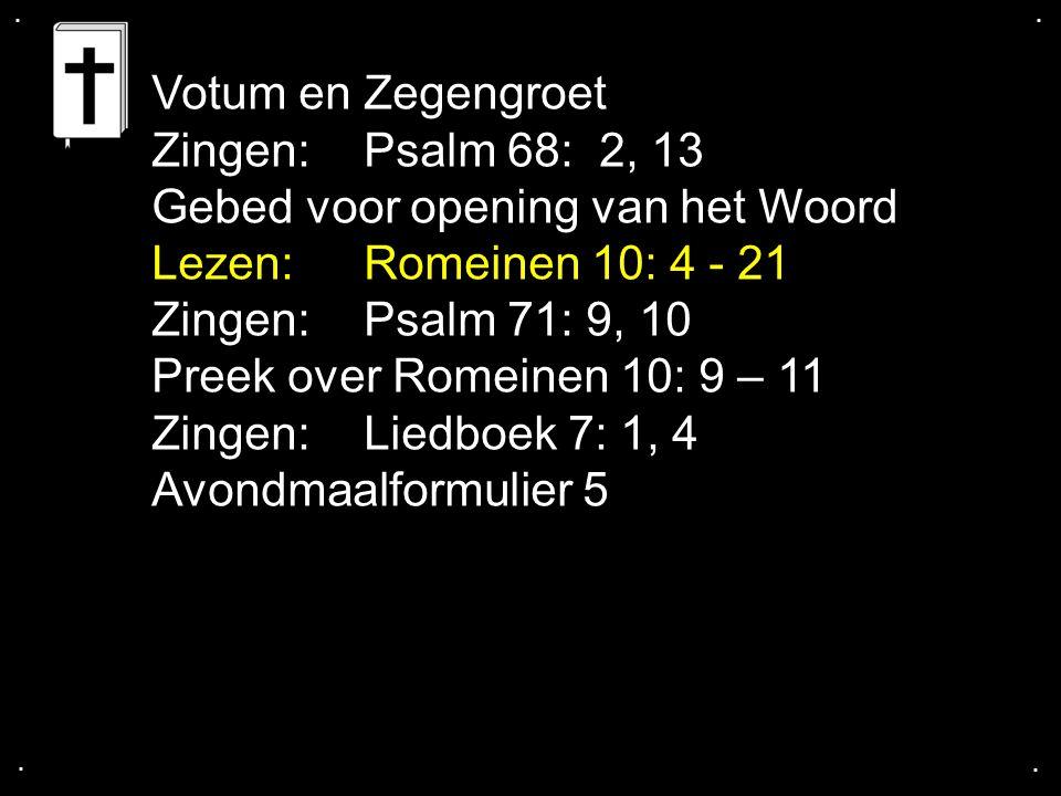 ... Gezang 127: 1 Cantorij