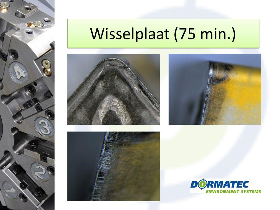 Wisselplaat (75 min.)