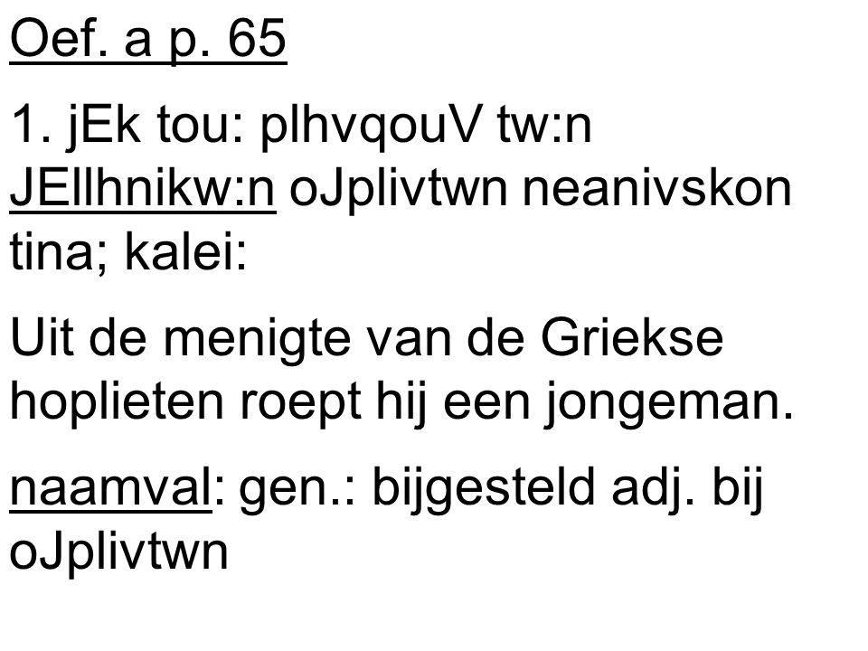 Oef. a p. 65 1.