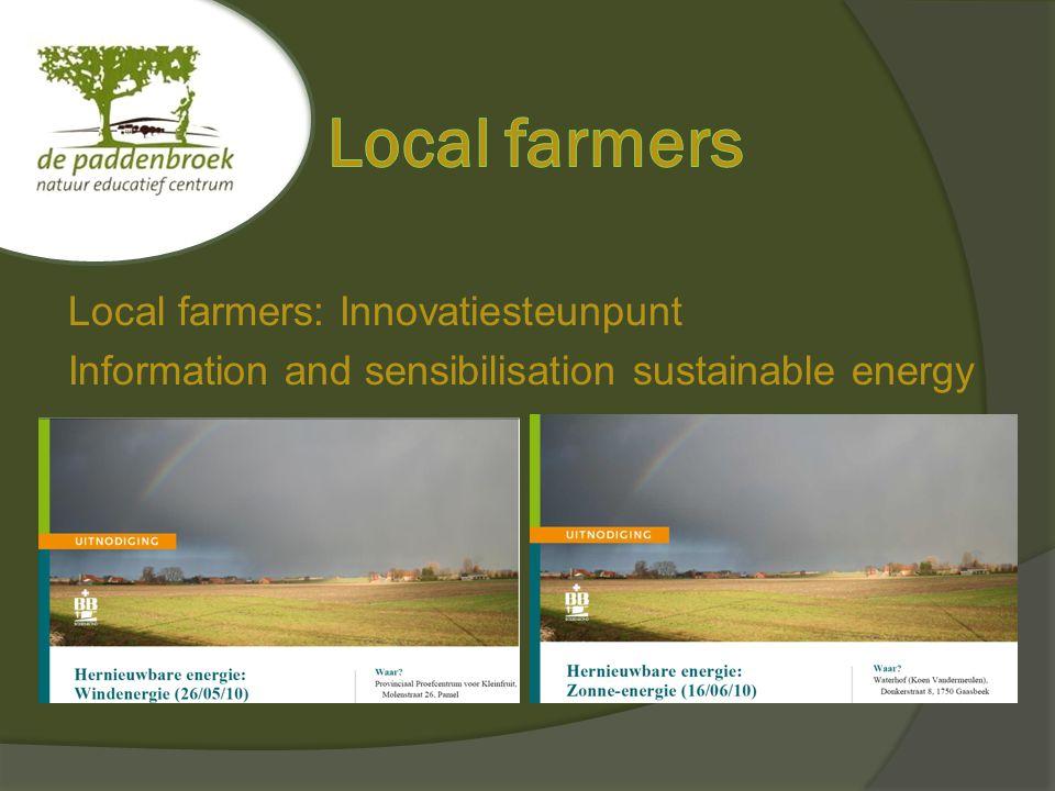 Local schools: Educatief Centrum De Paddenbroek Formats energy, climate