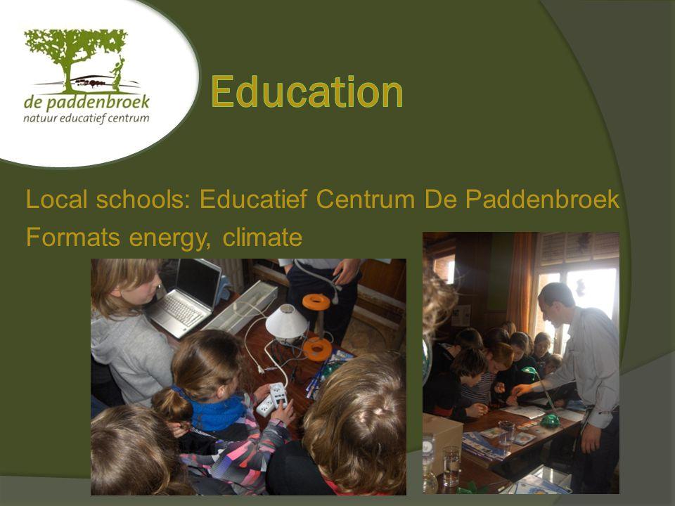 Bruno Moens Educatief centrum de Paddenbroek vzw Paddenbroekstraat 12 1755 Gooik 02/306.45.62 info@paddenbroek.be