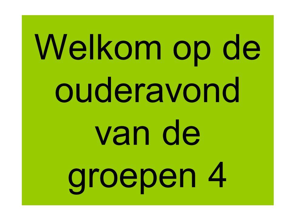 Even voorstellen Corry Theunen en Ad Steveninck 4A Anja Bik en Ingrid van Herwijnen 4B