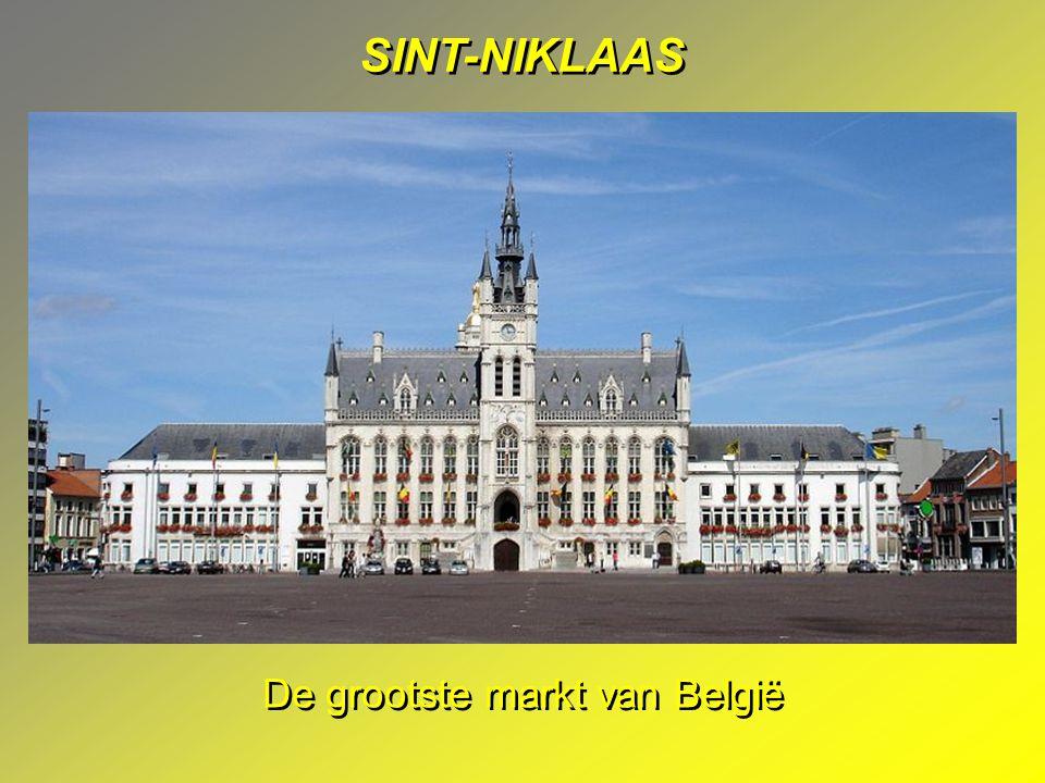 SINT-NIKLAAS De grootste markt van België
