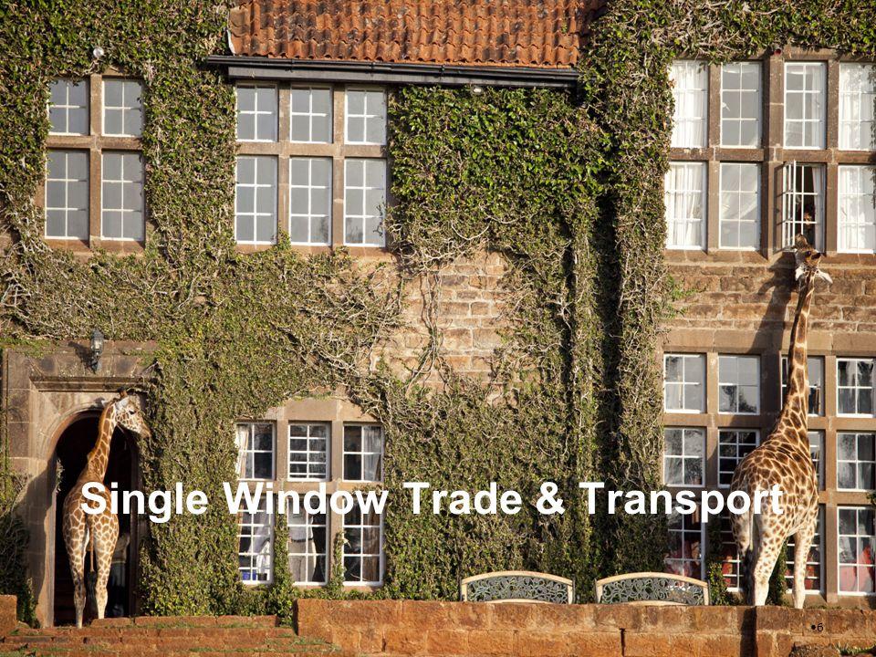 Single Window Trade & Transport 6