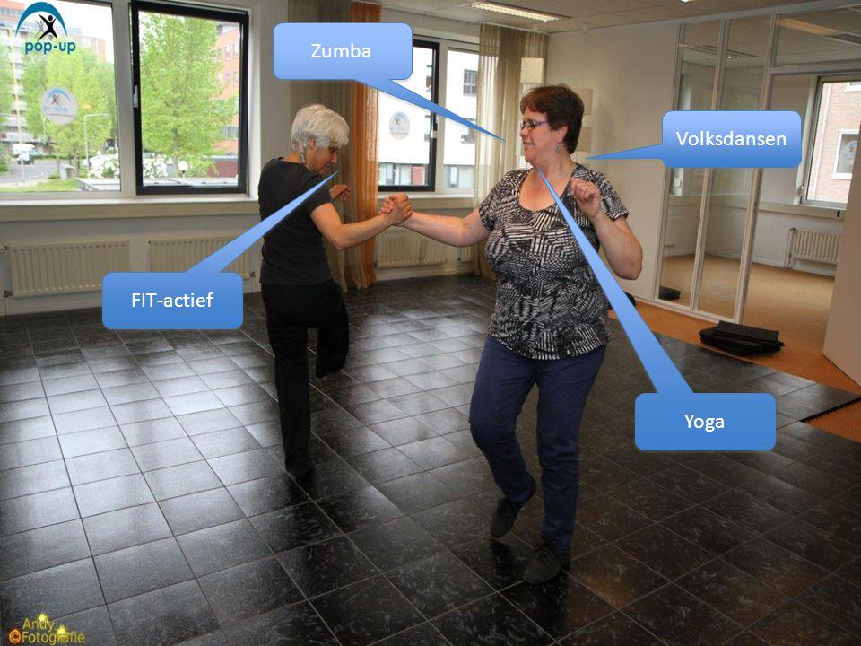 Volksdansen Zumba FIT-actief Yoga