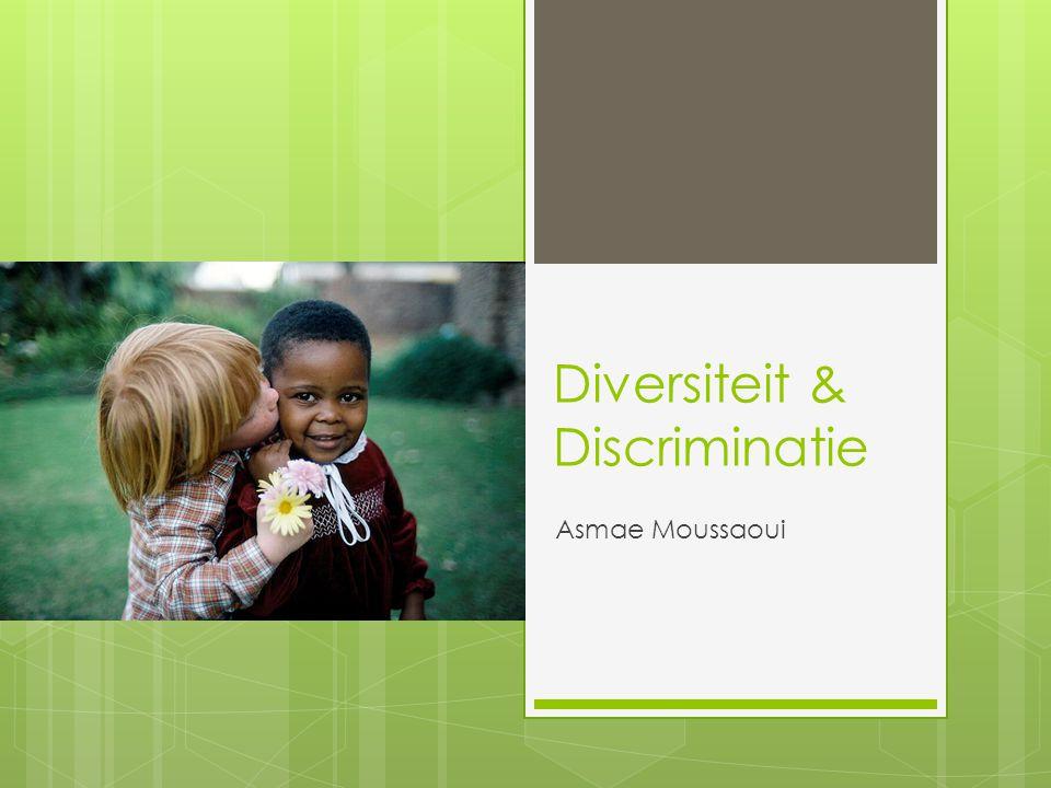 Diversiteit & Discriminatie Asmae Moussaoui